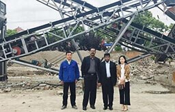 Indian Customers Visit the Installation in Shanghai