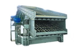 Mobile Coke Round Vibrating Screen