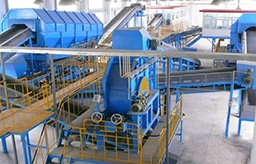 200 TPD Municipal Solid Waste Sorting Line