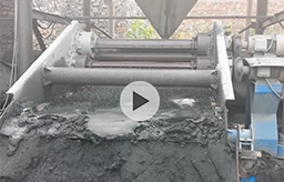 Tailings disposal Equipments-Dewatering Vibrating Screen