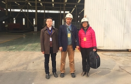 Lebanon Customer's Visit for Waste Sorting System